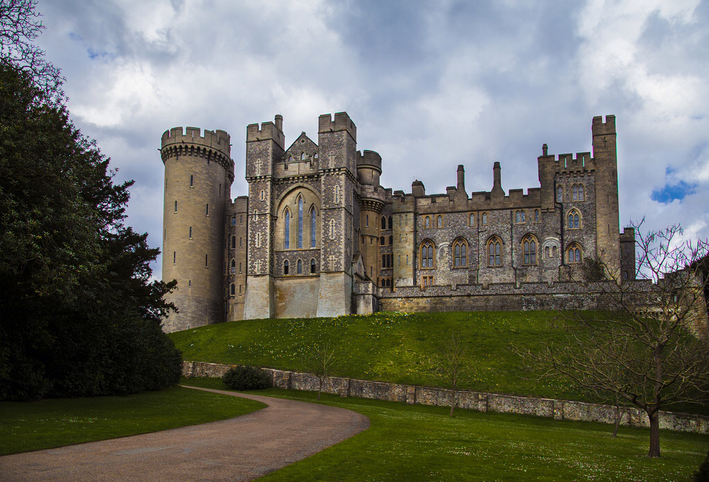 medieval, sussex, and arundel castle image