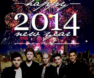 happy new year, new year, and 2014 image