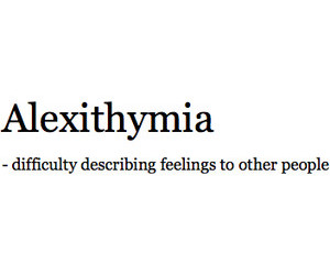 feelings, quote, and alexithymia image
