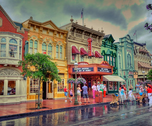 bright, disney, and florida image
