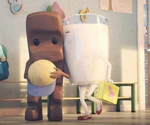 chocolate, milk, and sweet image