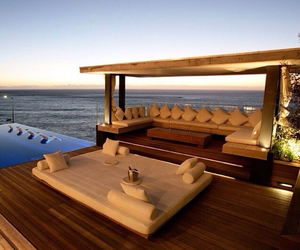 cool, house, and pool image