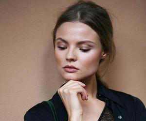 Magdalena Frackowiak, model, and makeup image