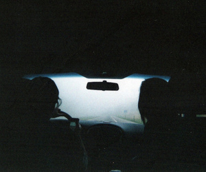 car, dark, and indie image