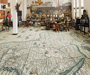studio, mappa, and geografic map image
