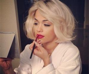 rita ora and makeup image