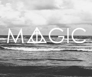 magic, harry potter, and sea image