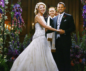 alex, izzie, and wedding image