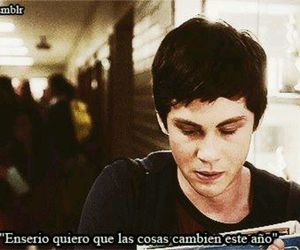 frases, logan lerman, and year image