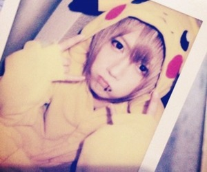 j-music, pikachu, and visual kei image