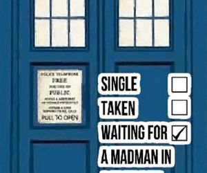 tardis, doctor who, and single image