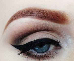 makeup, eye, and eyeliner image