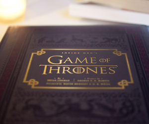 book, tv show, and game of thrones image