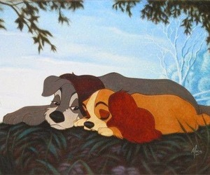 disney, love, and dog image
