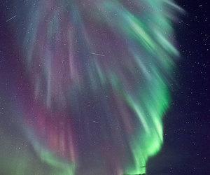 aurora borealis, beautiful, and lights image