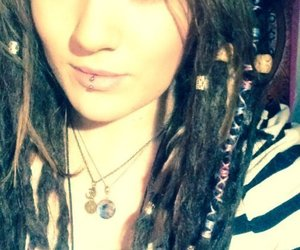 dreadlocks, dreads, and girls with piercings image