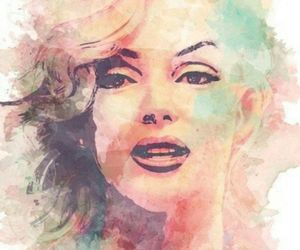 art and Marilyn Monroe image