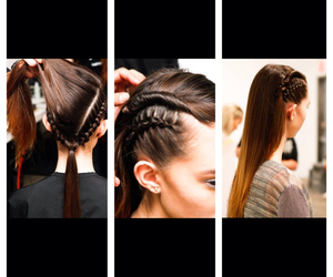 cheveux, coiffure, and defile image