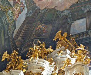 angels, prague, and baroque image
