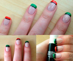 color, steps, and nail art image