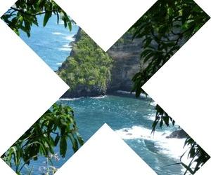 beach, x, and grunge image