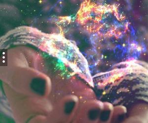 cool, rainbow, and magic image