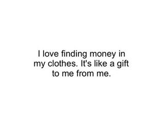 money and clothes image