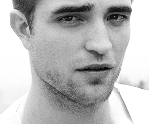 black and white, Robsten, and british image
