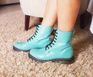 blue, boots, and cute image
