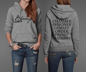 harry potter, always, and hoodie image