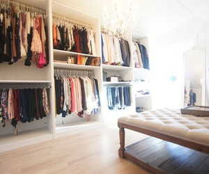 clothes, closet, and fashion image