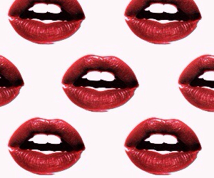 lips, red, and header image