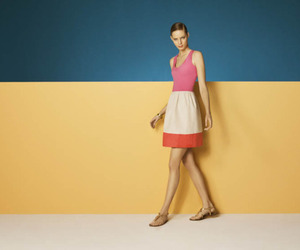 colorful, fashion, and color block image