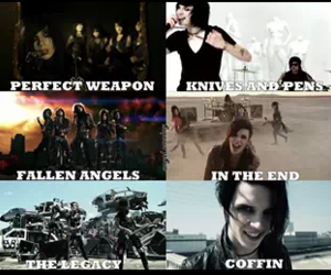 coffin, FALLEN ANGELS, and bvb image