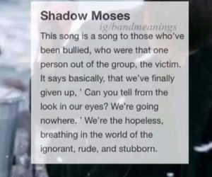 bring me the horizon, victims, and bullied image