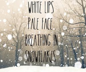 ed sheeran, winter, and snow image
