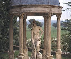 garden, statue, and 19th century -want. image