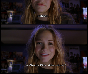 simple plan, olsen, and movie image