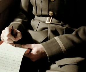 Letter, soldier, and aesthetic image