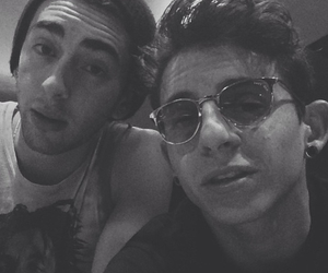 black and white, brothers, and moises arias image