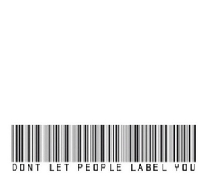 quotes, label, and people image