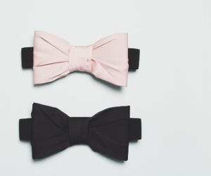 pink, black, and bow image