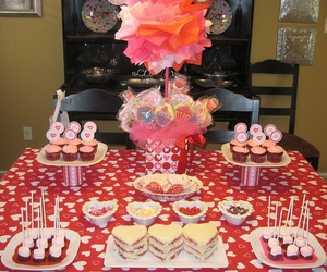cakes, cupcakes, and candies image