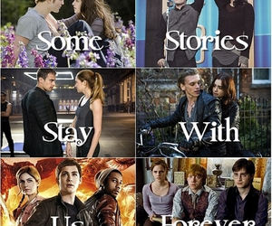 percy jackson, harry potter, and stories image