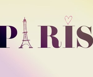 paris and heart image