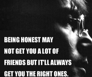 quotes, friends, and john lennon image