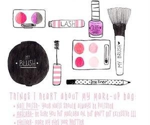 cute, blush, and illustration image