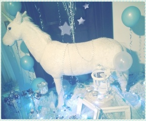 unicorn and blue image