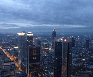 new year, skyline, and frankfurt am main image