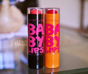 baby lips, lips, and girly image